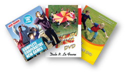 New Games, Cooperative Play and Parachute Games DVDs