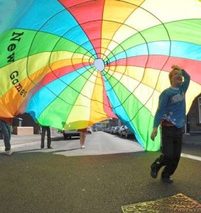 Parachutes for Games and Activities