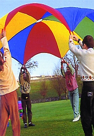 Rainbow Play Parachutes